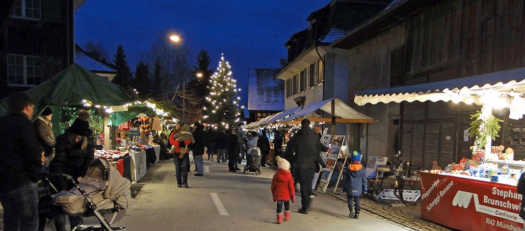 Aussteller Weihnachtsmarkt.Für Aussteller Weihnachts Und Handwerkermarkt Stettfurt Thurgau
